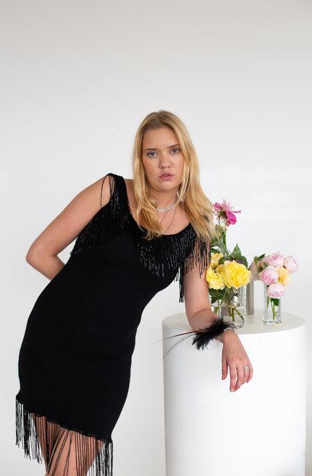 Sydney Pimbley Parrot Dress - Black