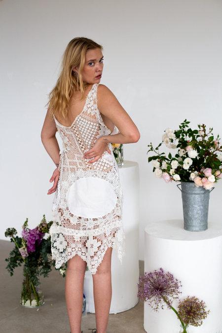 Sydney Pimbley Zeev's Villa Dress - white