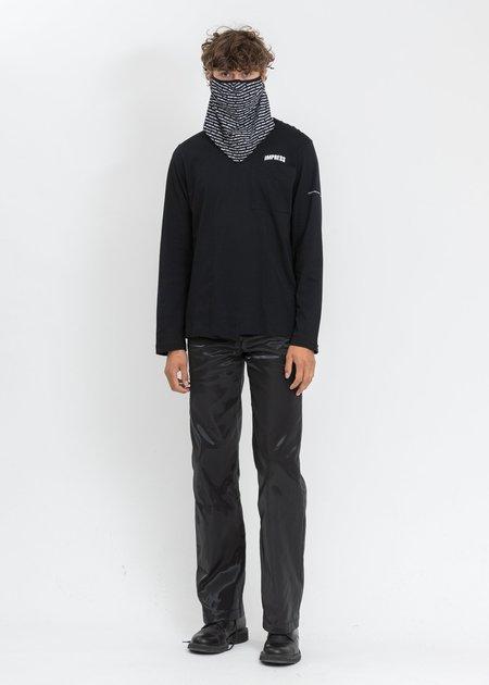 Helmut Lang School Mask - BLACK