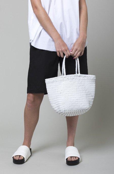 Dragon Diffusion Grace Basket - White/Tan