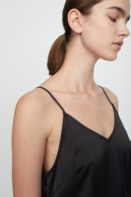 Just Female Clear Singlet Dress - Black