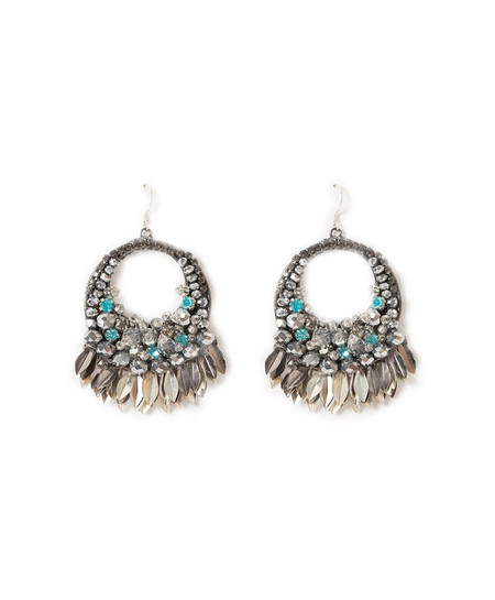 Deepa Gurnani Levi Earrings