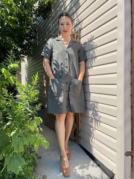 Birds of North America Joree Dress - Grey Hatch