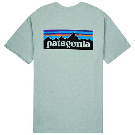 Patagonia P-6 Logo Responsibili-tee - Big Sky Blue