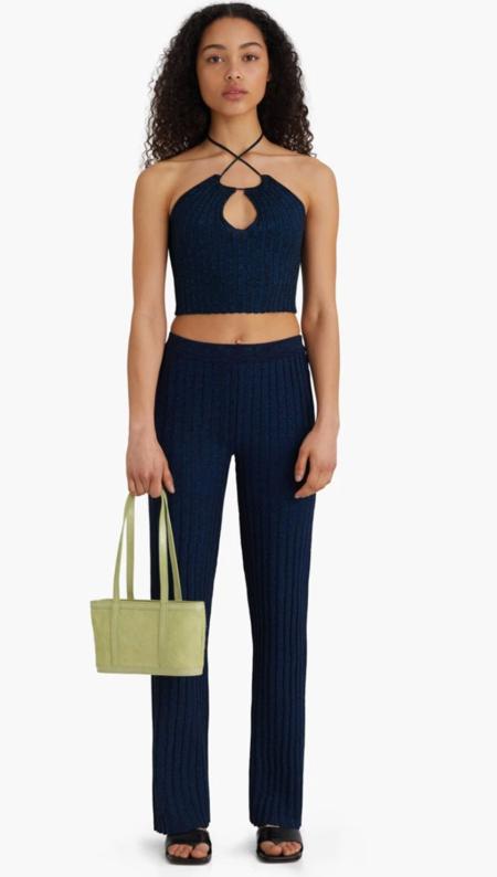 paloma wool fromthe pants - navy blue metallic