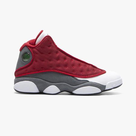 Jordan 13 Retro Gym Shoes - Red/Gray