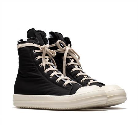 RICK OWENS DRKSHDW High top padded sneakers - Black