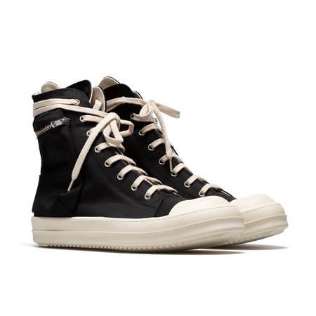 RICK OWENS DRKSHDW High Top Cargo sneakers - black