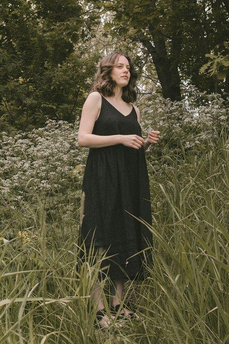 Ursa Minor Studio Delphine Dress - Black