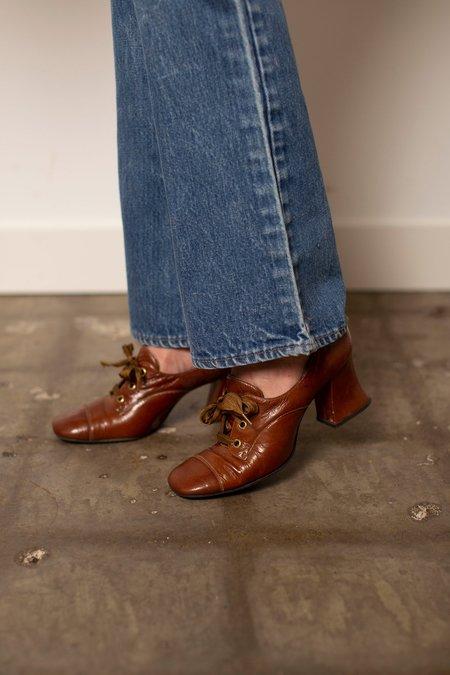 Vintage Heels - brown