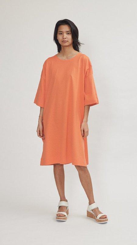 Issey Miyake Easy T Dress - Orange