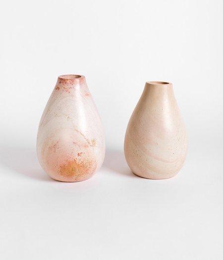 Rose & Fitzgerald Rounded Soapstone Vase