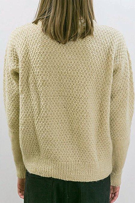 Tsuyumi Wool Pullover - Cream