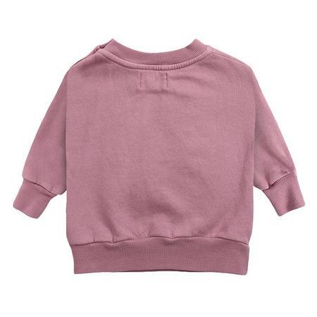 kids Bobo Choses Baby Fruit Print Sweatshirt - Pink