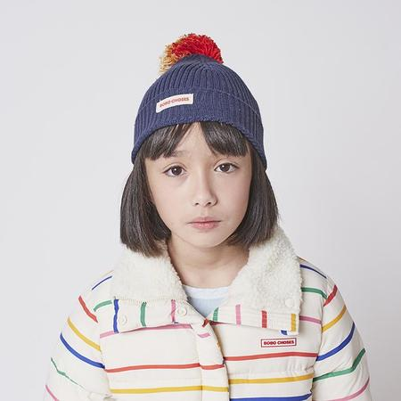 kids Bobo Choses Child Pompom Knit Hat - Multicolour