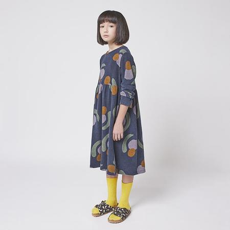 Bobo Choses Child Sweater Dress - Navy Blue