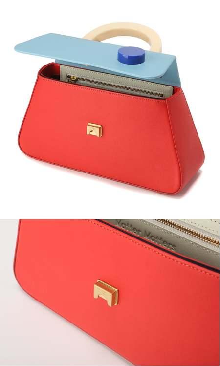 MATTER MATTERS Alice Flap Bag - Red
