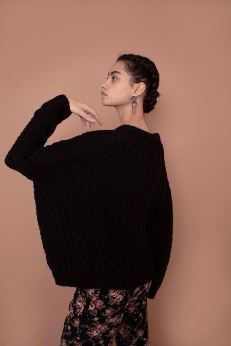 Meadows Mayflower Sweater - Black