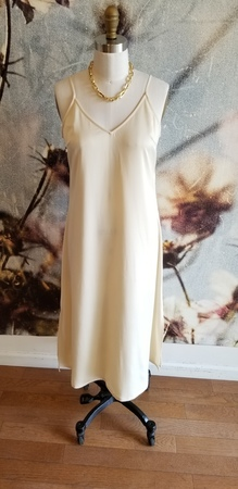 Just Female Clear Singlet Dress - Off White