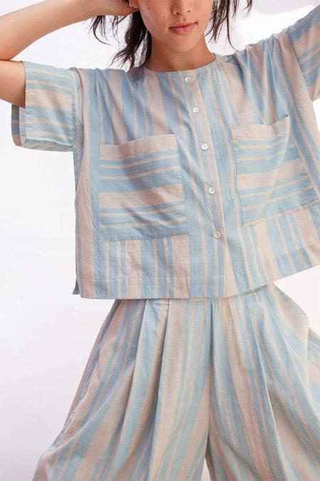 Seek Collective Megan Shirt - Cirrus