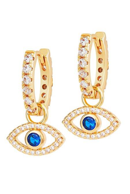 Celeste Starre The Rhodes Earrings - Gold