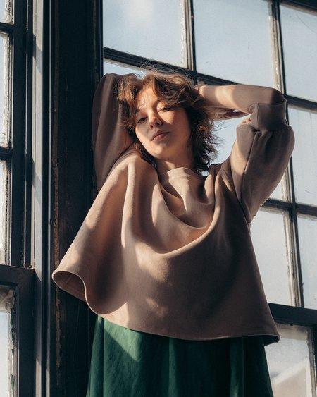 Ursa Minor Studio Leona Sweatshirt - Rose Bisque
