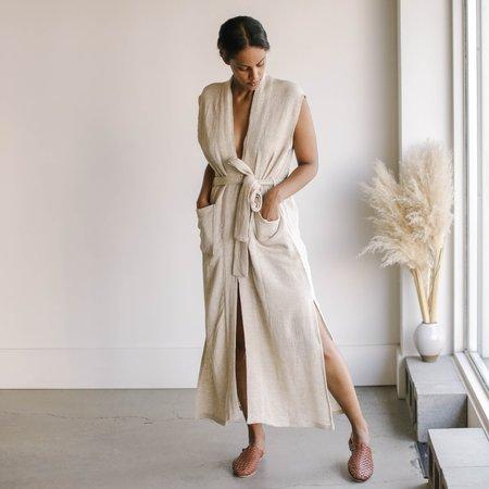 BAHHGOOSE Lu Dress - Wheat