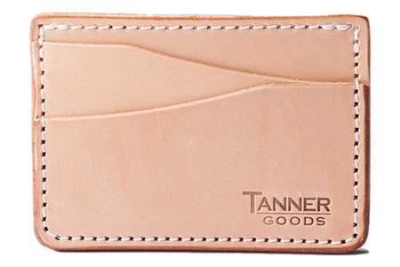 Tanner Goods Journeyman Card Wallet - Natural