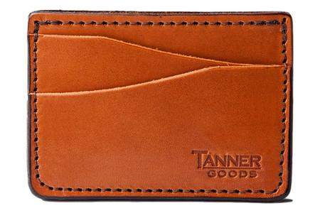 Tanner Goods Journeyman Card Wallet - Saddle Tan