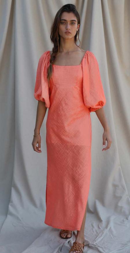 Jen's Pirate Booty SAMPLE Cali Coast Paia Maxi Dress - Papaya