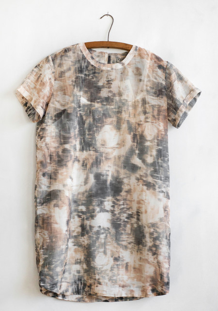 Sunday Supply Co. Whisper Peach Shirt Dress