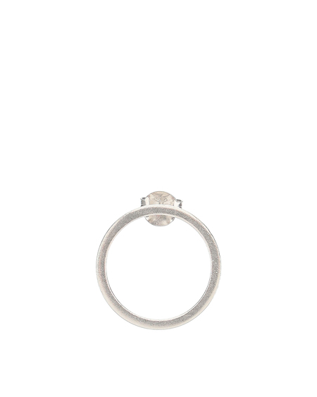 Maison Margiela Logo Earring - Silver