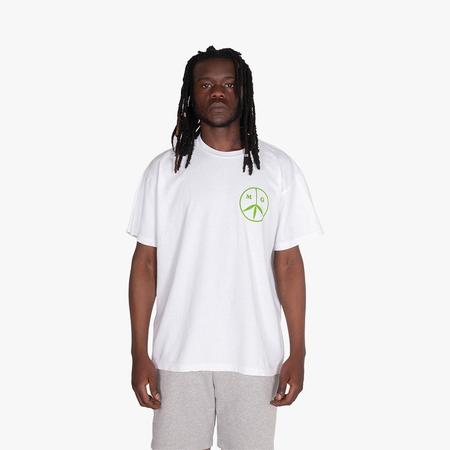Mister Green Aquarian Airlines T-shirt / White