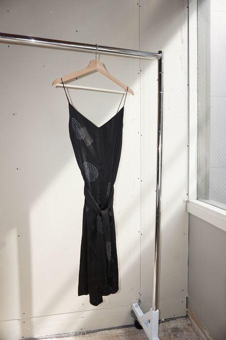 [pre-loved] RUJUTA SHETH Slip Dress in Wonderland Print - Black
