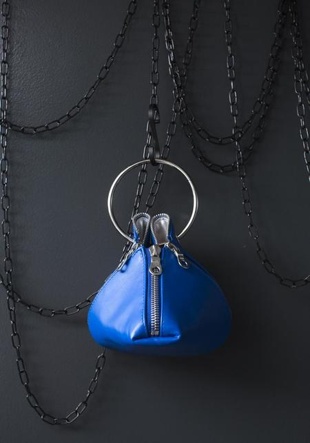 Amorphose Ring and Zip Detail Clutch