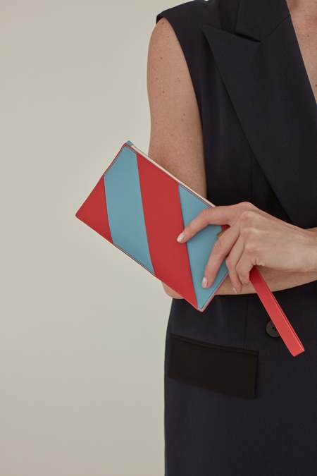 MATTER MATTERS Hama Mini Zip Pouch - Red