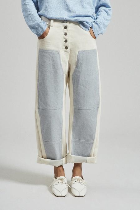 Rachel Comey The Handy Double Knee Pant - Natural