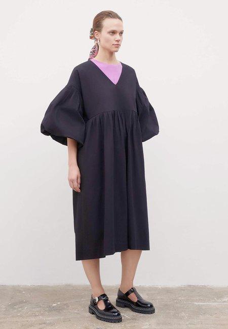 Kowtow Yoshi Dress - Black Ripstop