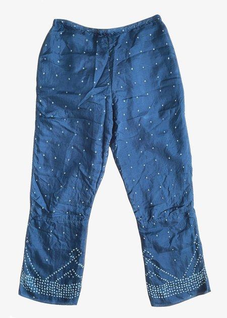 Injiri Neel-77 Pants - blue