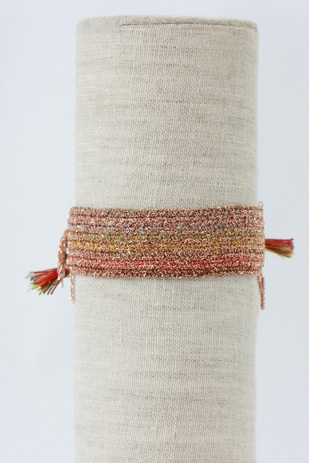 Marie Laure Chamorel Vermeil Multicolored Bracelet