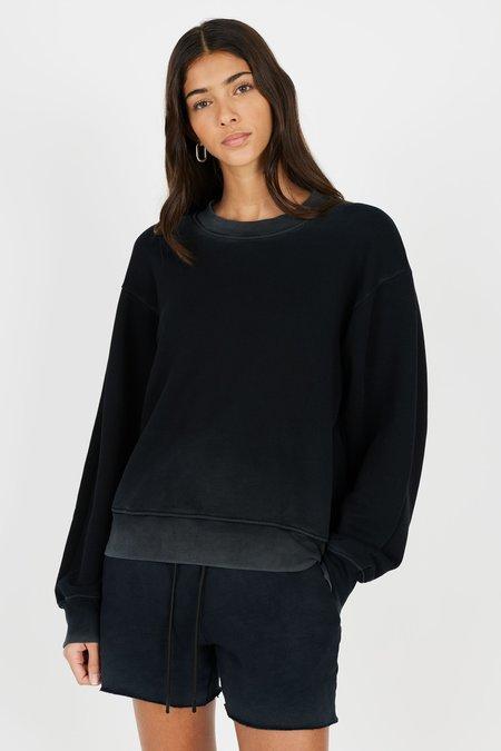 Cotton Citizen Brooklyn Crew Sweatshirt - Vintage Black