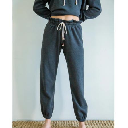 Donni. Fleece Gem Sweatpants - Charcoal