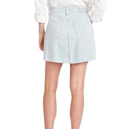 Etica Lucy A-Line Mini Skirt - Malibu