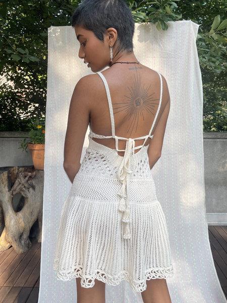 Abacaxi Samba Dress - Natural