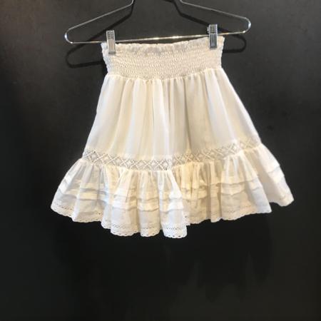Secret Mission Pearl Skirt - Off White