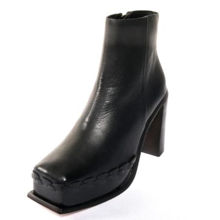 Wal and Pai  Ensley Calf Boot - Black