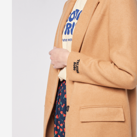Bobo Choses Lapel Coat