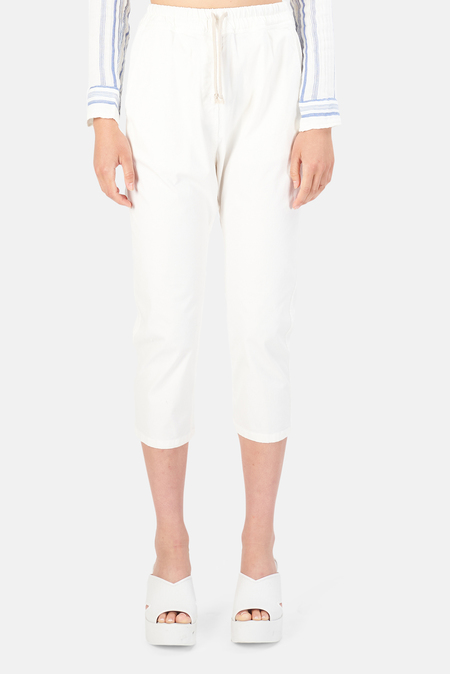 Nili Lotan Women's Casablanca Pants - Eggshell