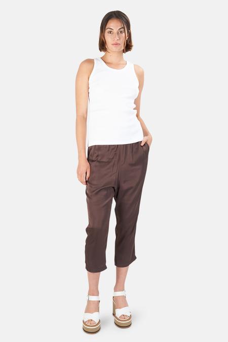 Nili Lotan Women's Safi Pants - Brown