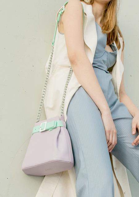 MATTER MATTERS Mini Bucket Bag - Lilac